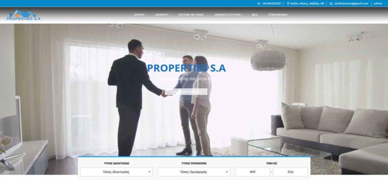 Properties Thassos